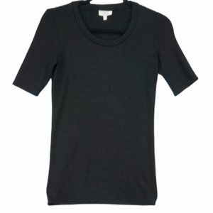 Wilfred Free S black knit t shirt